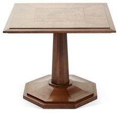 Square Vintage Wood Table