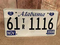 Authentic Vintage State Metal License Plates IL KY DC UT MS PA MT AL WA TX Vintage Artwork, License Plates, Artwork Prints, St Louis, Missouri, Ms, Metal, Car License Plates, Vintage Graphic