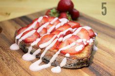Strawberry Cream Cheese French Toast - Strawberries / Bread / Cream Cheese / Dbl Cream / 1 Egg / Icing Sugar (1) | Go Cook Yourself
