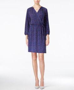 Maison Jules Dot-Print Wrap Dress, Only at Macy's   macys.com