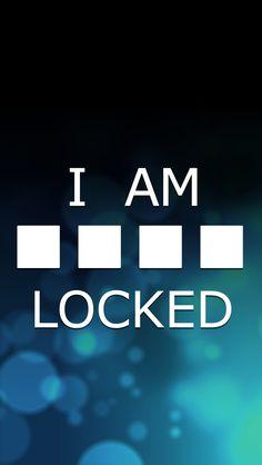 I am locked wallpaper