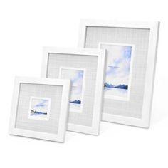 Swing Design™ Carson Frame in White - BedBathandBeyond.com