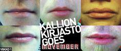 Movember 2012  Team: KallionKarvaKuonot