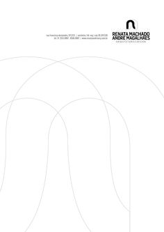 RENATA MACHADO  ANDRE MAGALHÃES ARQUITETURA E DESIGN / logomarca e papelaria por katianey