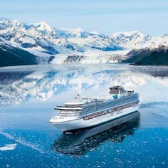 Take an Alaskan Cruise... always wanted to do this!