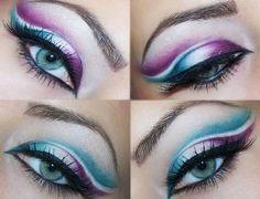 Best Eyeshadow For Blue Eyes Brown Hair Pale Skin - #eyemakeup #brightmakeup #makeup #purpleshadow #greenshadow - bellashoot.com