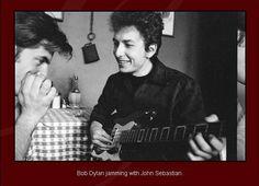 Bob with John Sebastian
