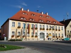 Rathaus in Ipsheim - Where Scotty and I were married.