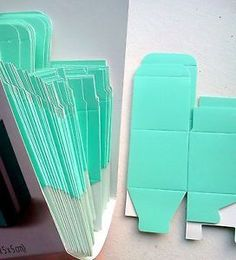 $31.57 - 100 Wilton Square Tiffany Blue Gift Boxes Wedding Baby Shower Party Favors | eBay