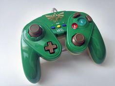 Manette GameCube pour Wii U Link - pdp - Acheter vendre sur Référence Gaming