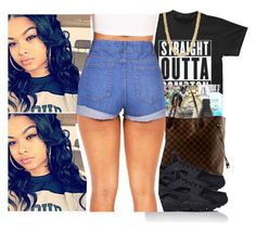"""""""Lmao when b*tches think they better then me * flips hair and laughs smh *-India"""" by swagger-on-point-747 ❤ liked on Polyvore featuring Michael Kors, Mercedes-Benz, Louis Vuitton and NIKE"""