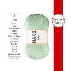Crochet Yarn, Knitting Yarn, Hand Knitting, Weight, Yarns, All Things, My Etsy Shop, Check, Cotton