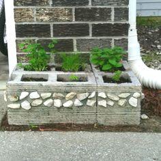1000 images about cinder block yard designs on pinterest for Cinder block pond ideas
