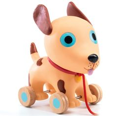 My first dog! #FLEXA #DJECO #kids #fun #woodentoys #toys #dog