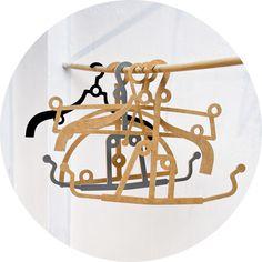 Méchant Design// crazy hangers collection