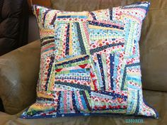 Fan Block Tutorial for pillows and quilts ....  love it ..