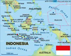 map of australia indonesia and malaysia relationship