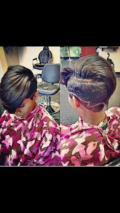 The cut life...@1msjerri I may have to have your hubby hook my hair up like this! ♥ it!