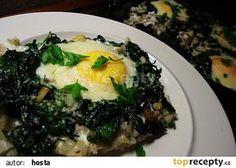 Kroupy zapečené se špenátem recept - TopRecepty.cz Quinoa, Mashed Potatoes, Grains, Beef, Ethnic Recipes, Food, Whipped Potatoes, Meat, Smash Potatoes