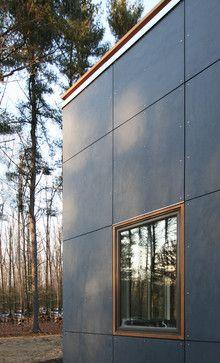 modern exterior by Resolution: 4 Architecture - article about fiber cement panels on Houzz Fiber Cement Siding, Metal Siding, Fibre Cement Cladding, Metal Roof, Concrete Board Siding, Aluminium Cladding Panels, Cladding Sheets, Siding Cost, Concrete Cladding