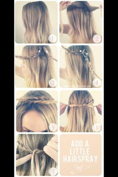 Cute, easy, fast summer hairstyles for summer