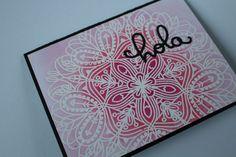 Tarjetas con embossing y distress Emma background Simon Says Stamp– Nerea Marsanz