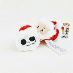 Mini Sandy Claws and Santa Claus Tsum Tsum (from The Nightmare Before Christmas)