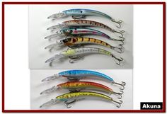 This lure is ideal for largemouth bass, walleye, northern pike, stripers, and salmon