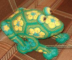 frog      ♪ ♪ ...  #inspiration_crochet  #diy GB http://www.pinterest.com/gigibrazil/boards/