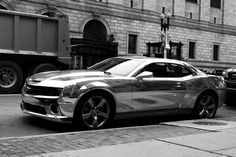 chrome camaro: tintek [czech republic]; also in gold, black, green, blue, orange, red and violet 3-d foils; wrapped over original paintwork