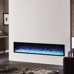 Shop now to get finance and free UK mainland shipping on your Gazco Fire - eReflex Inset Electric Fires, Electric Stove, Fire Basket, Gas Fires, Living Room Tv, Blue Accents, Downlights, White Light, Three Dimensional
