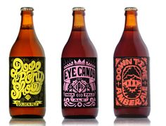 Oh Wow! - Bespoke beer labels for Maven Craft Beer by Rudi de Wet