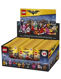 Lego Minifigures Лего фильм: Бэтмен серия 71017