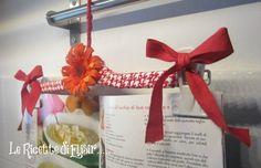 Gruccia appendi ricettario idea fai da te creativa le ricette di elisir