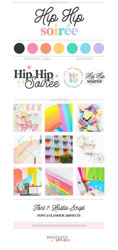 Modern Web Design, Graphic Design Tips, Graphic Design Inspiration, Brand Identity Design, Branding Design, Logo Design, Branding Kit, Brand Board, Kids Logo