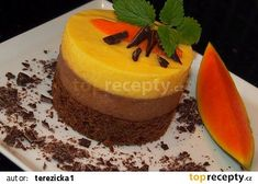 Mini Desserts, Ale, Mango, Cheesecake, Food And Drink, Pudding, Sweets, Cooking, Cups