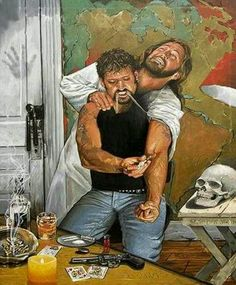 My daughter describes this picture as us not listening to God/Jesus. I think it also describes how we Hurt Jesus when we chose evil. What do you think? I thought this was pretty interesting. Jesus Reyes, Religion Catolica, Religious Paintings, Prophetic Art, Jesus Pictures, Jesus Pics, Funny Pictures, Jesus Christ Superstar, Holy Spirit
