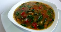 Tuscan Vegetable Soup Healthy Meals, Healthy Recipes, Fresh Vegetables, Feel Better, Gourmet Recipes, Healthy Lifestyle, Paleo, Lose Weight, Low Carb