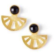 A satin finish open ray earring jacket in double gold plated sterling silver. These add a dynamic statement to any Black Betty stud. Size: x Betty Design, Earring Jacket, Black Betty, Satin Finish, Geometric Shapes, Statement Earrings, Sterling Silver, Gold, Collection