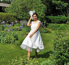 ANGELA Short Weddingdress Vintage Style Petticoat by SashCouture1, $350.00