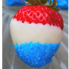 Easy, creative treat for July Memorial day and other patriotic holidays! Holiday Treats, Holiday Parties, Holiday Fun, Holiday Recipes, Festive, Beach Holiday, Favorite Holiday, Fourth Of July Food, 4th Of July Party
