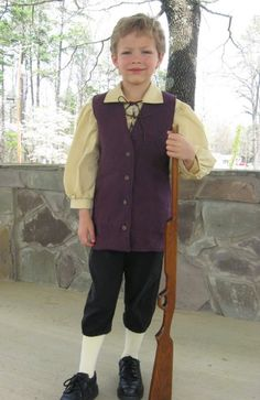 Colonial Costume Boy & Boys George Washington Costume