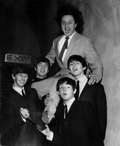 The Beatles and Ken Dodd who died today. RIP.