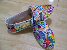 The New Witty's: custom painted TOMs