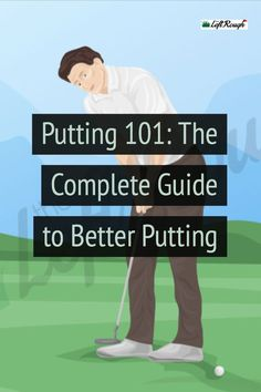 Improve your putting by mastering the fundamentals. Here's how to make more putts drop and play better golf. Putting Tips, Golf Putting, Golf Score, Jack Nicklaus, Golf Instruction, Golf Player, Perfect Golf, Golf Training, Putt Putt