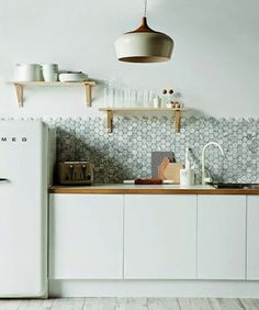 blanco vintage: GRESITE HEXAGONAL - HEX TILE