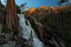 Emerald Falls, Lake Tahoe by JDenault,