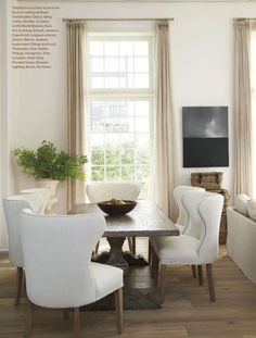 great chairs and table