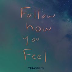 Sharespiration #1 - Follow how you feel