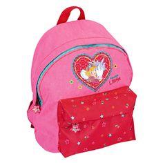 Kindergarten-Rucksack mit Prinzessin Lillifee und Einhorn.